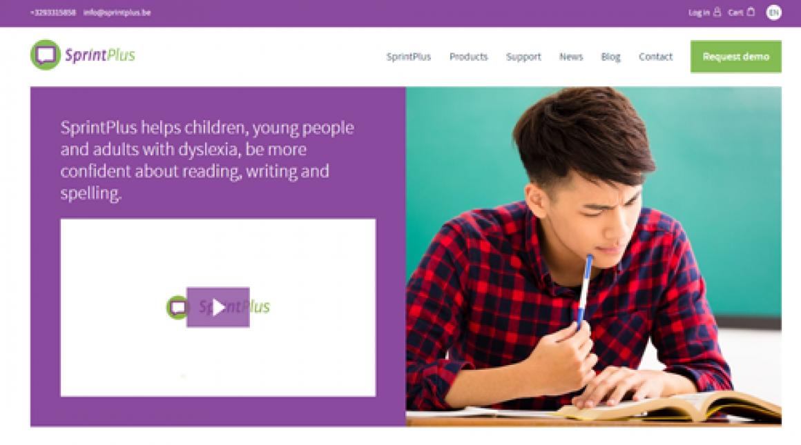 New SprintPlus website