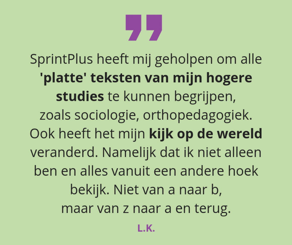 SprintPlus: 15 jaar voorleessoftware